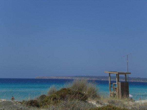 Foto playa Cala en Baster. FORMENTERA 08