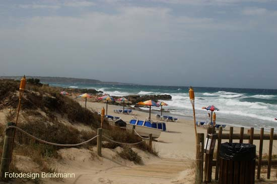 Foto playa Cala en Baster. Formenterra