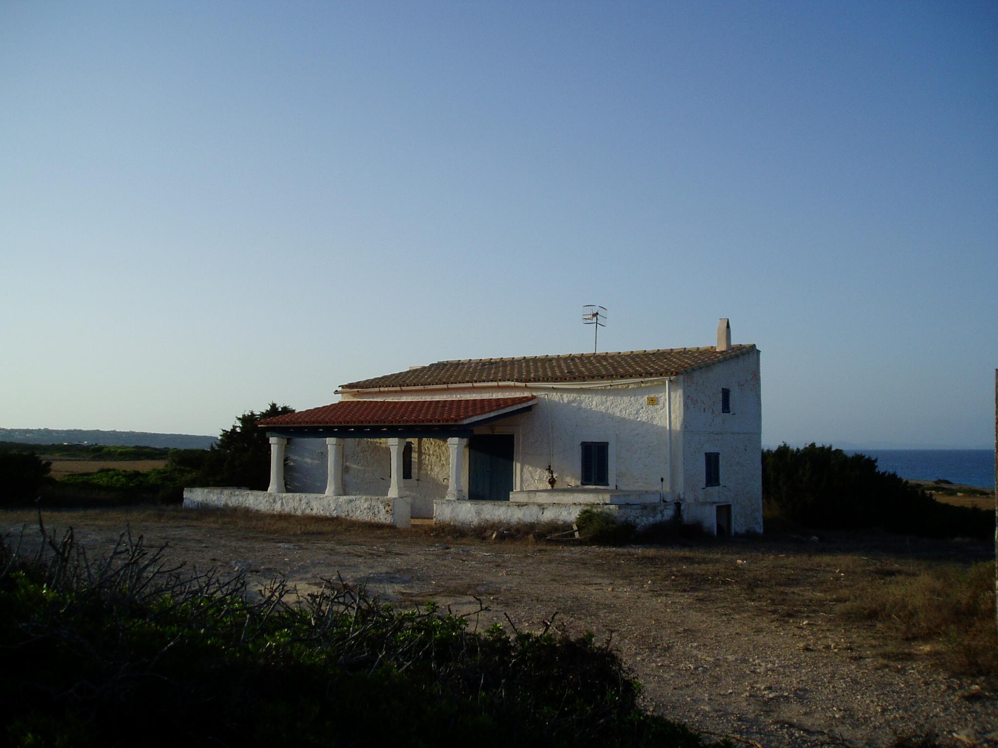 Foto playa Ses Canyes. Formentera