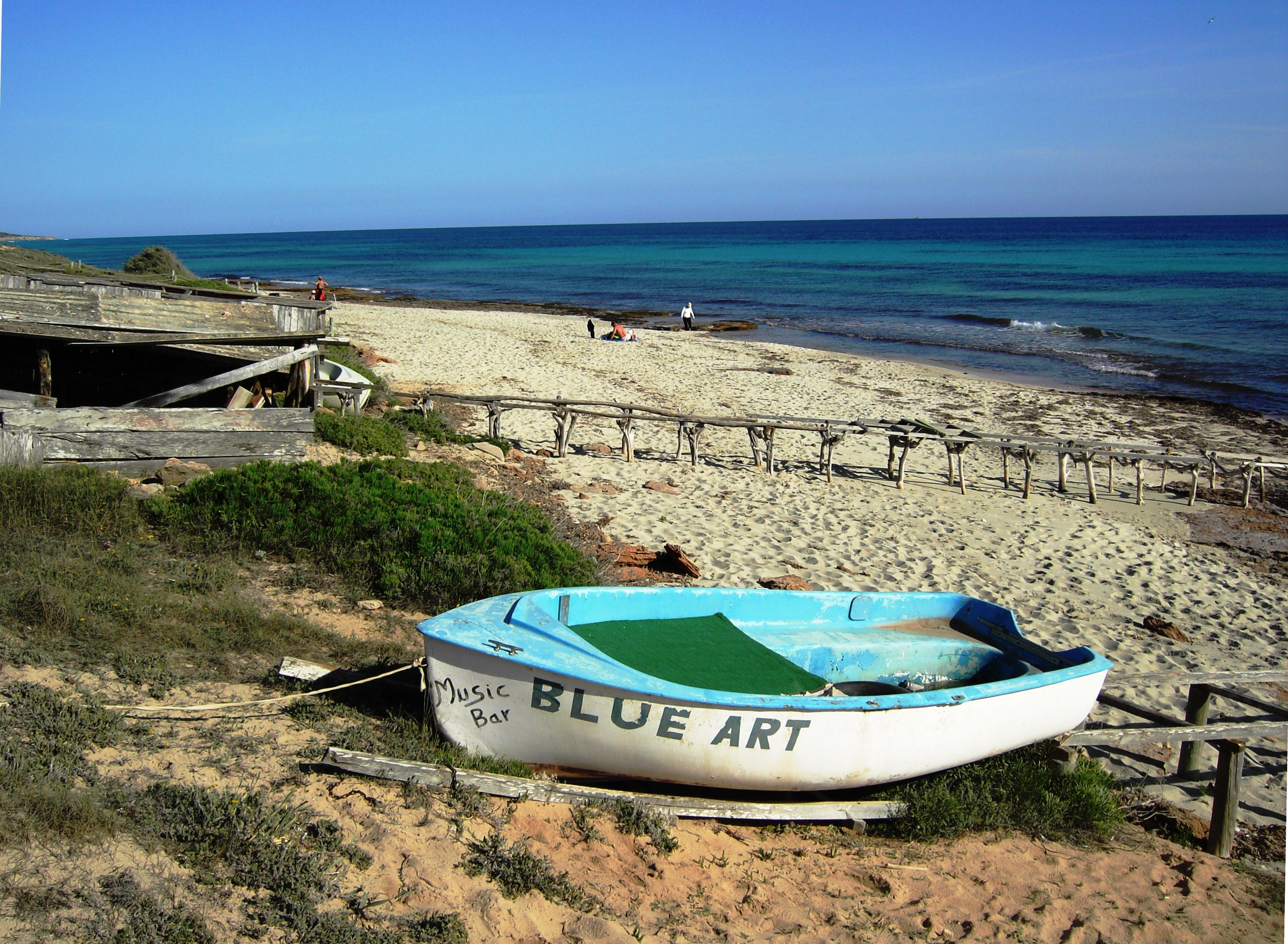 Foto playa Els Arenals. la platja del blubar