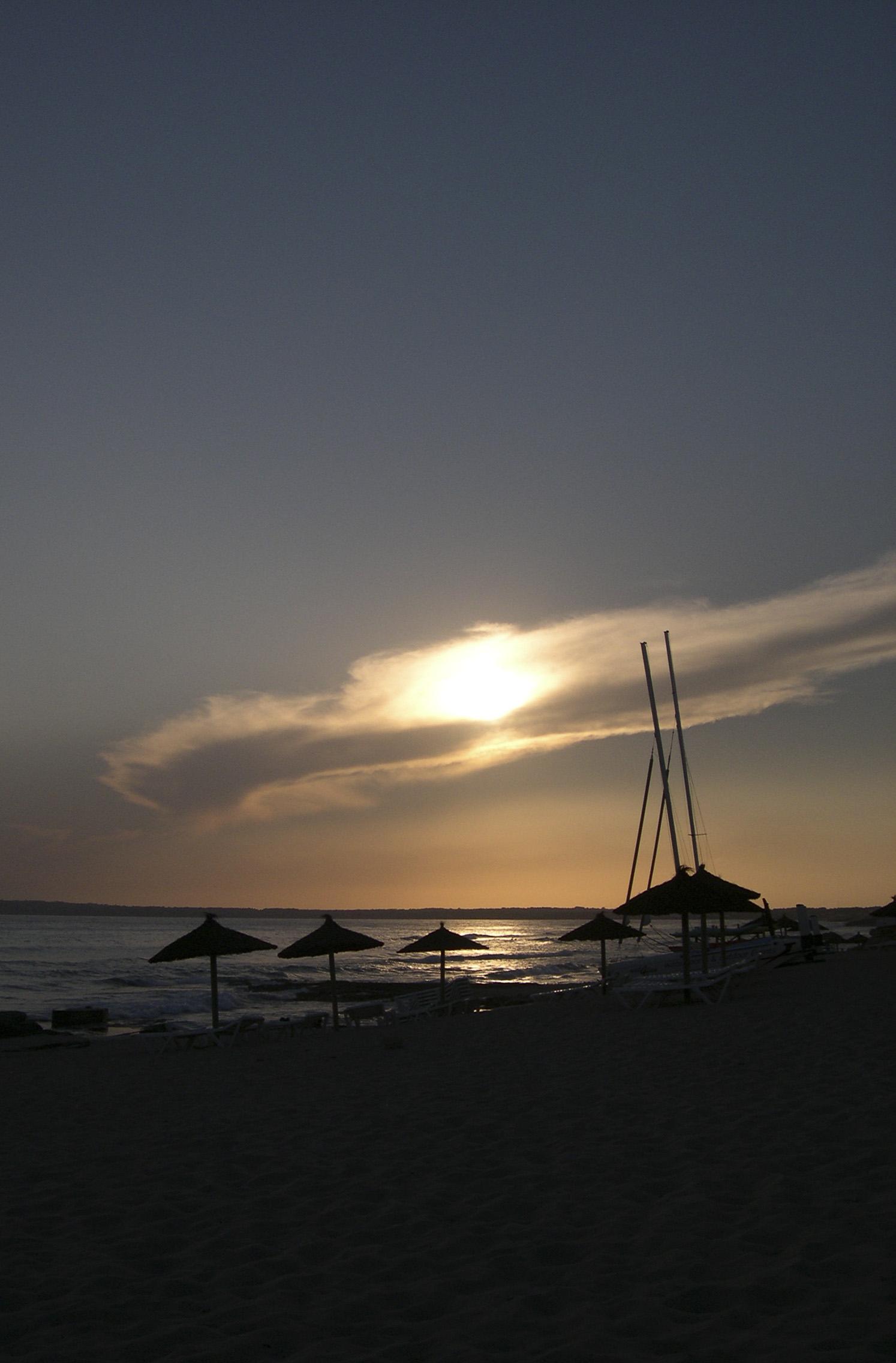 Foto playa Els Arenals. formentera sur