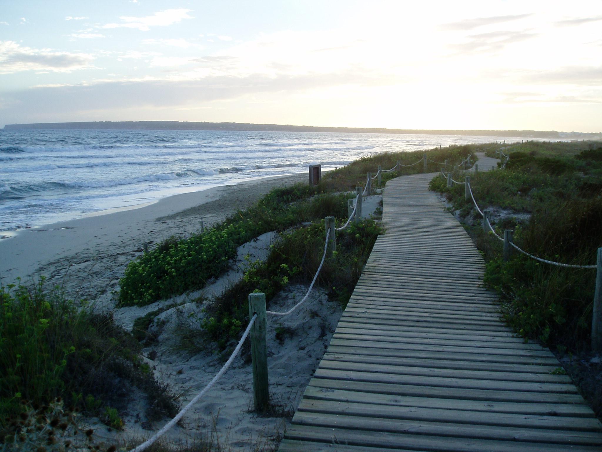 Foto playa Els Arenals. Dunes, Formentera