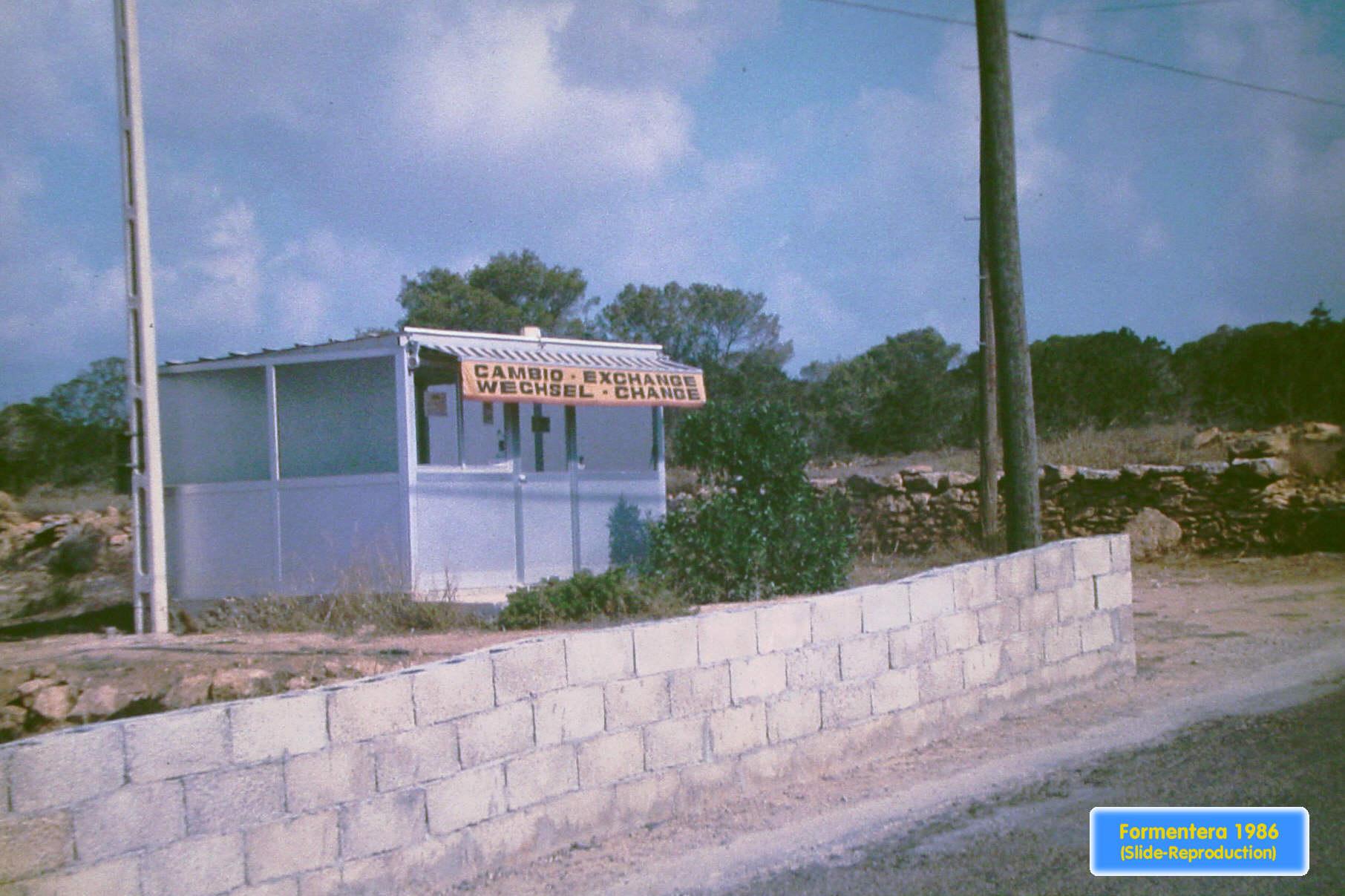 Foto playa Es Migjorn. Formentera04 - Cambio-Exchange-Wechsel-Change