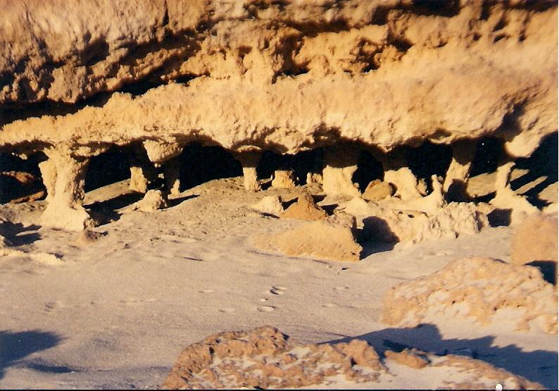 Foto playa Es Migjorn. La Accion de Tiempo