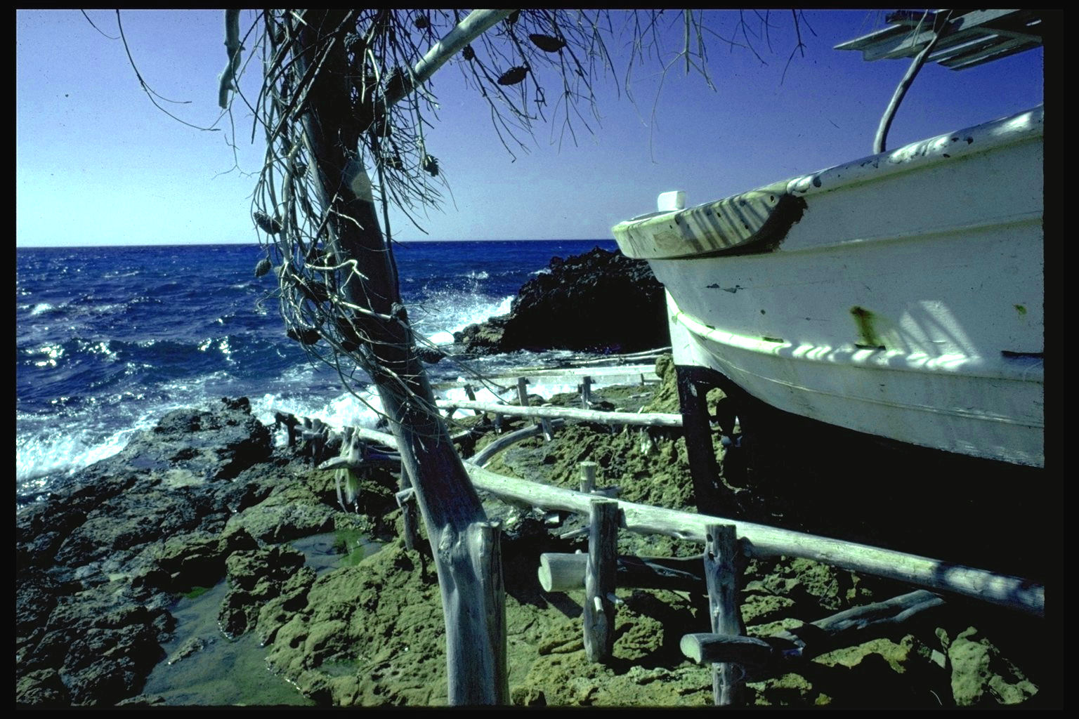 Foto playa Cala Saona. Amarre en Formentera