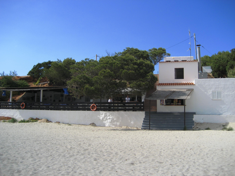 Foto playa Cala Saona. Restaurante Sol