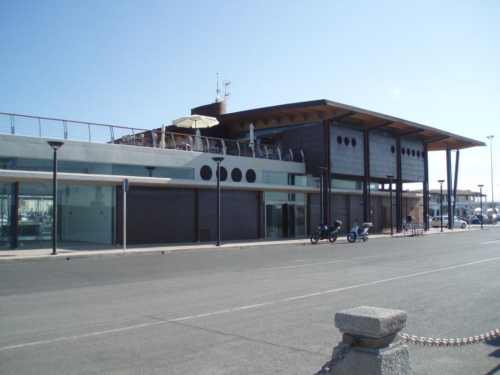 Foto playa Cala Savina. Nueva Estación Maritima de Formentera