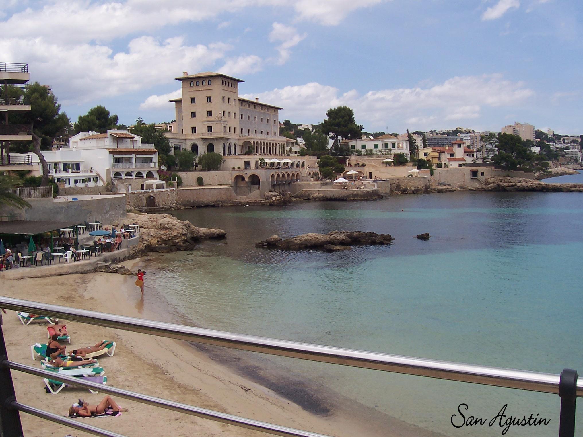 Foto playa Ses Illetes. San Agustin