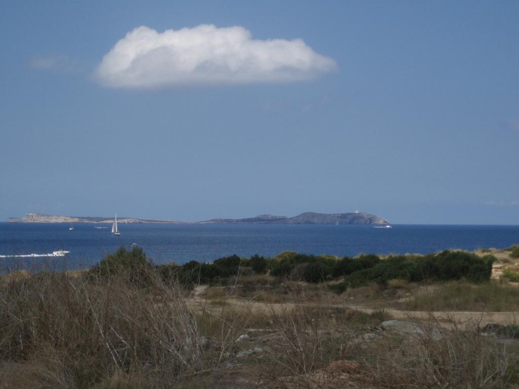 Foto playa Caló des Moro / Es Caló d´es Moro. Vista desde Ses Variades