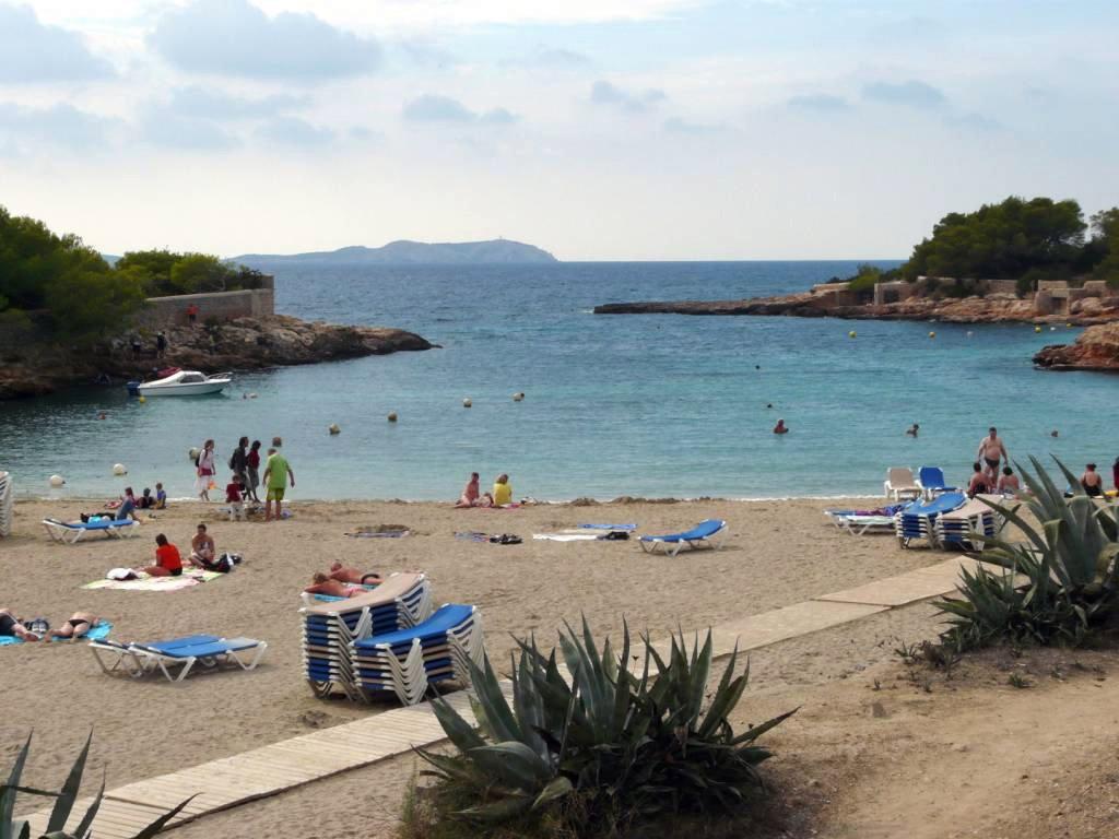 Foto playa Cala Gració. Espagne, l´Ã®le d´Ibiza la Cala Gracio