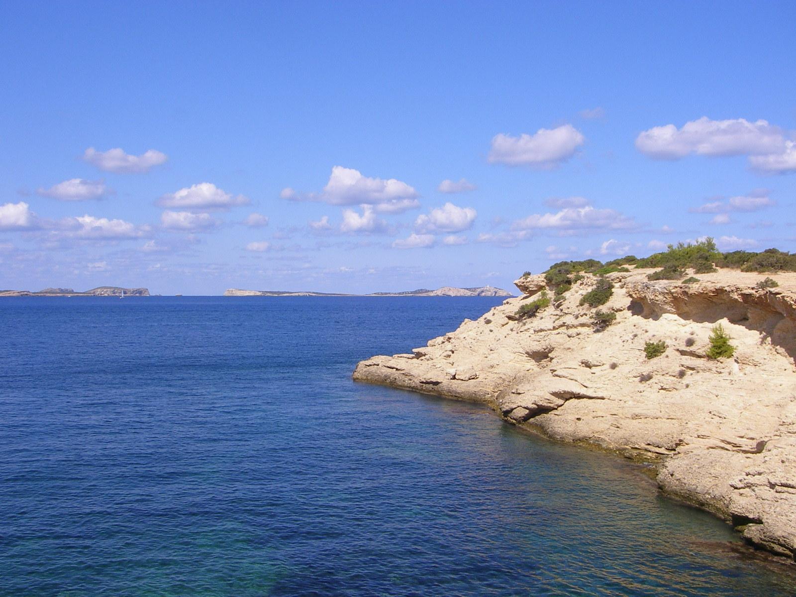 Foto playa Cala Gració. SA CONILLERA CAMINO DE CALA GRACIO