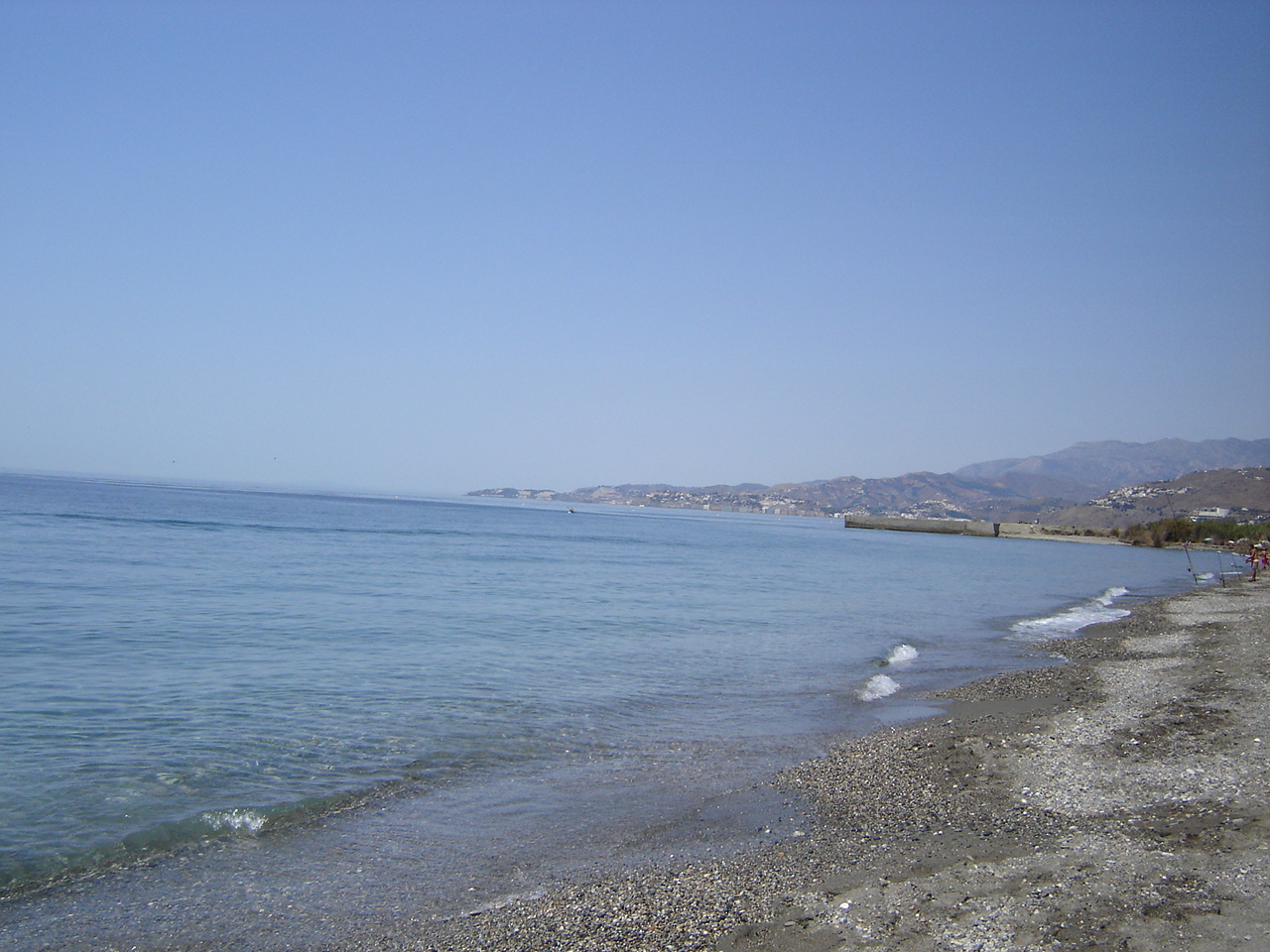 Foto playa Salobreña / La Cagadilla / Punta del Río. Litoral