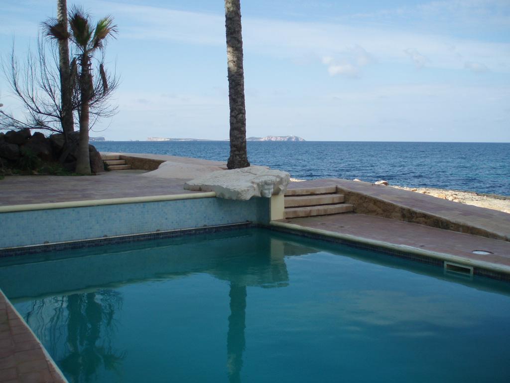 Foto playa Cala Gració. Agua dulce y agua salada