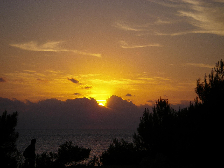 Foto playa Cala Gració. PUESTA DE SOL DESDE C. GRACIO