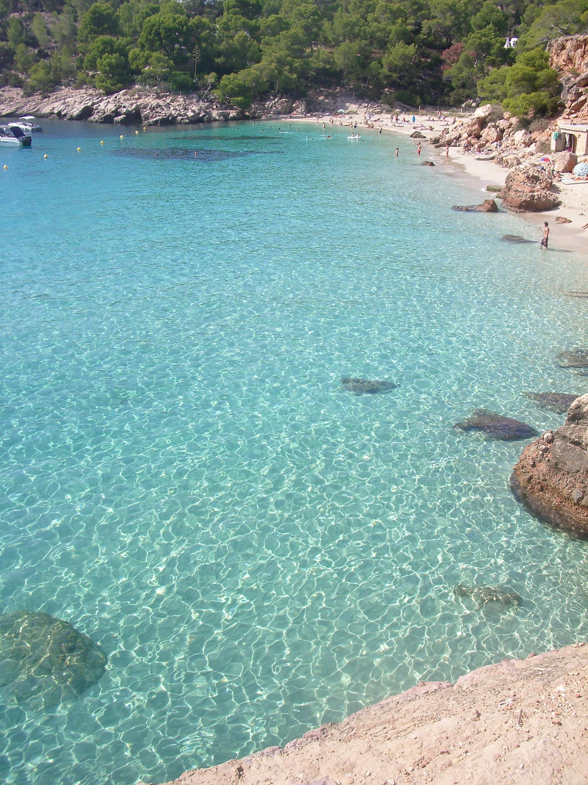 Foto playa Cala Salada. CALA SALADA 2