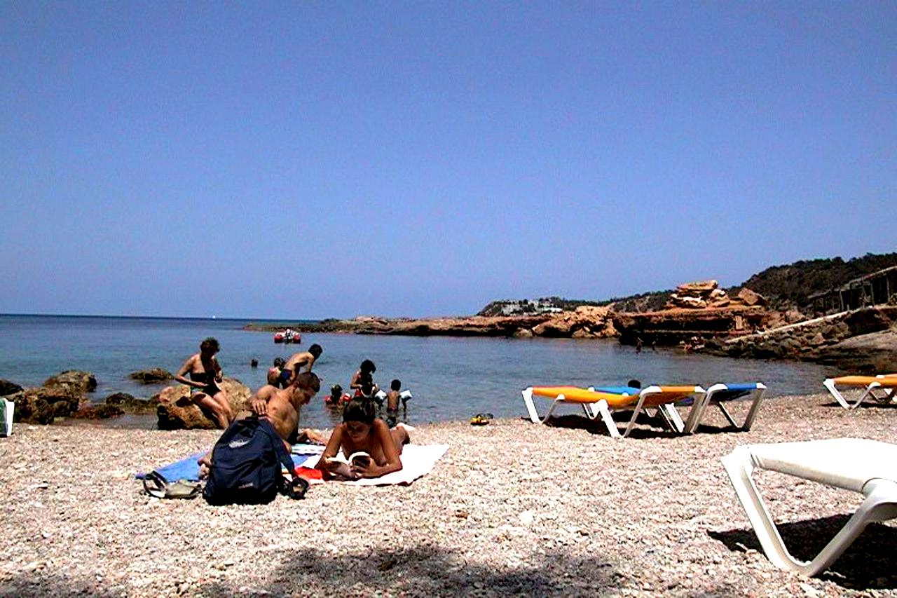 Foto playa Cala Xarraca. Cala Xarraca- Ibiza.