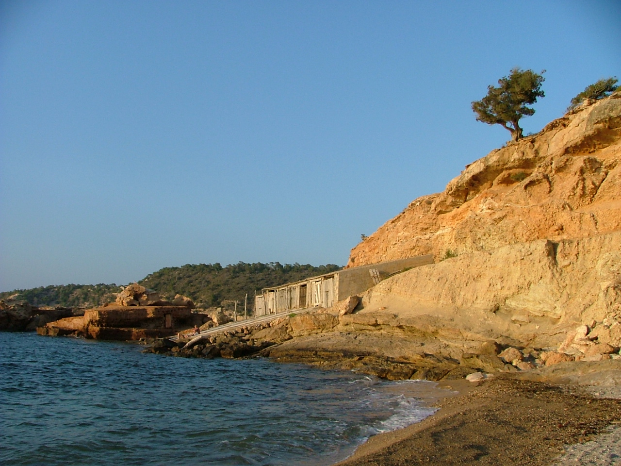 Foto playa Cala Xuclá. S´Illot des Renclí