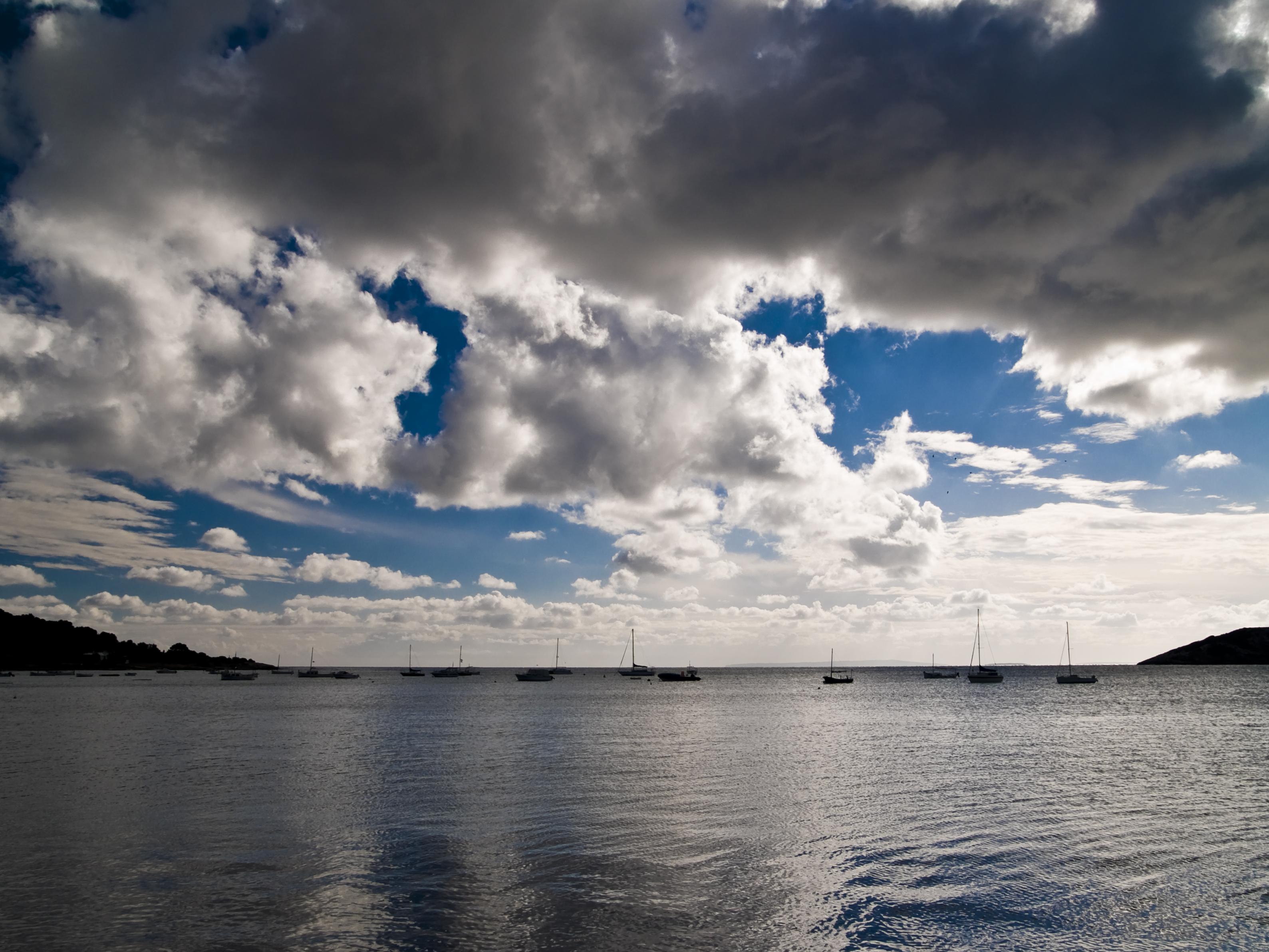 Foto playa Talamanca. Talamanca desembre 2007
