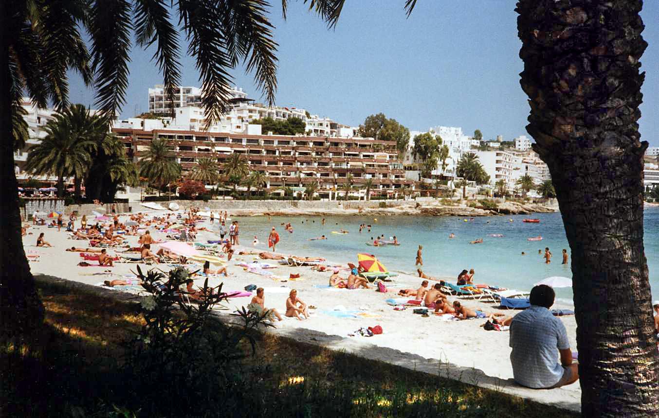 Foto playa Es Vivé.