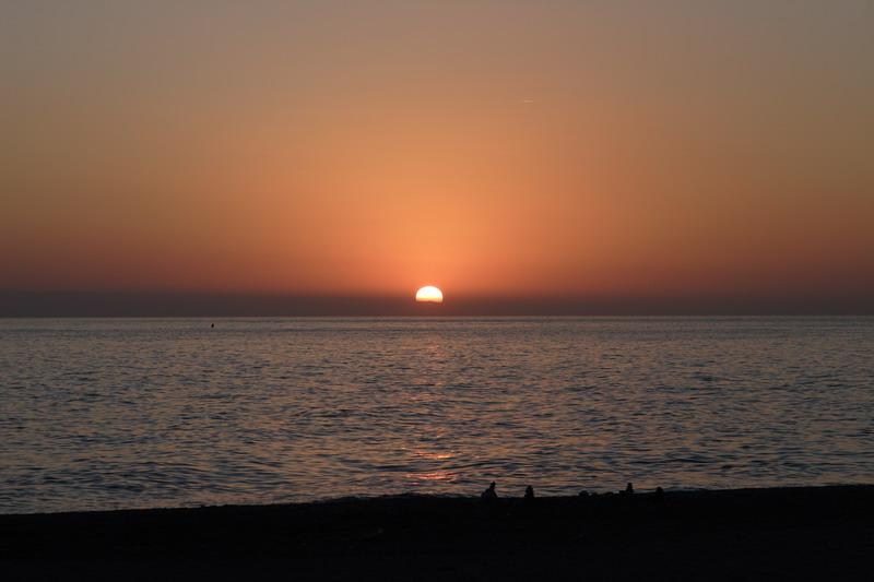 Foto playa La Charca / Salomar. salobrenosunset