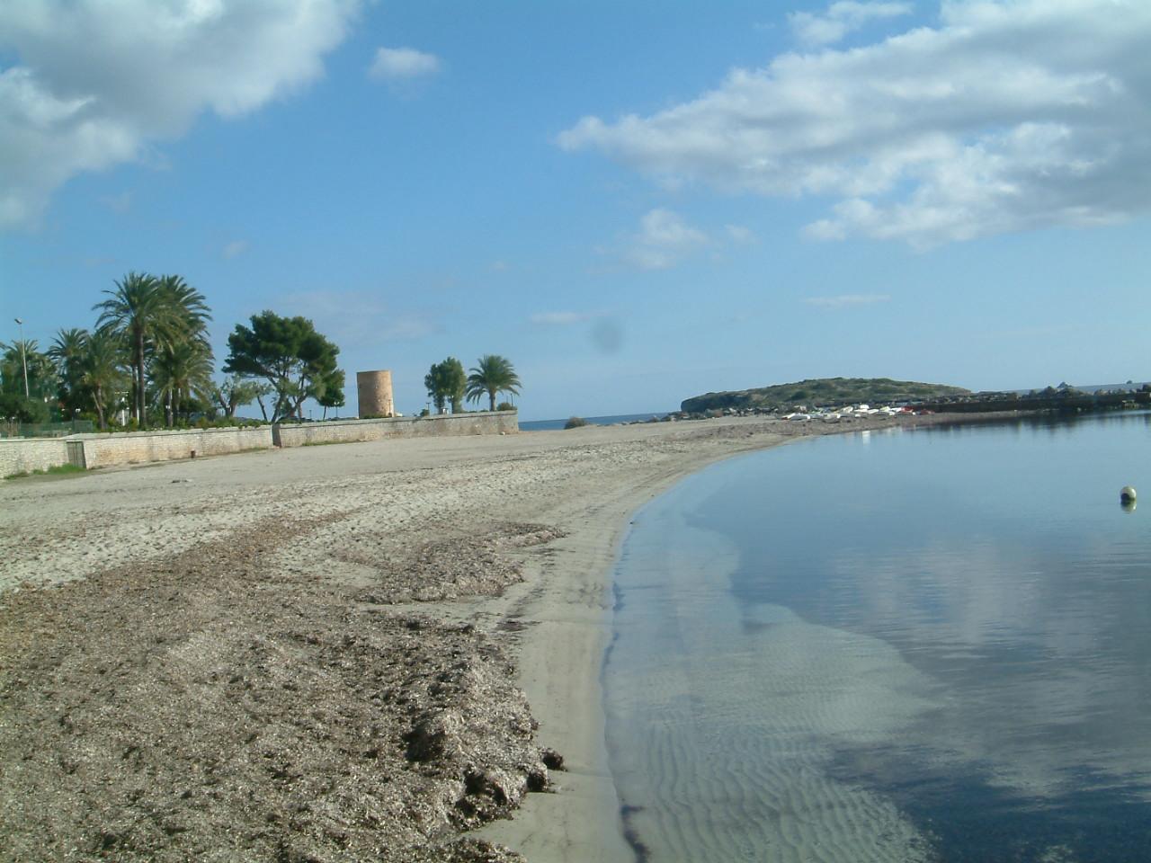 Foto playa Es Vivé. torre del mar