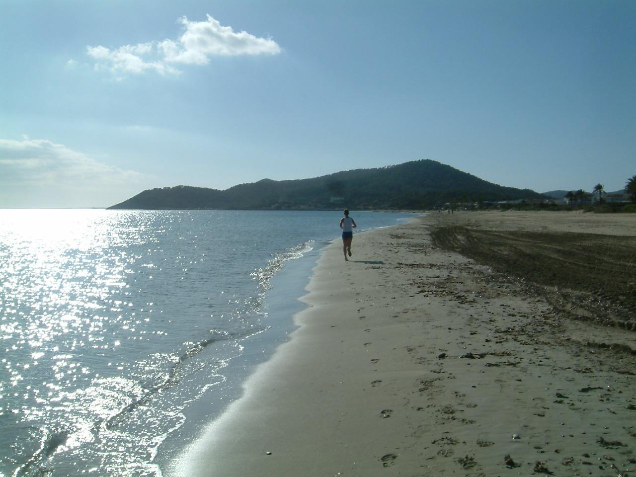 Foto playa En Bossa. playa den bossa