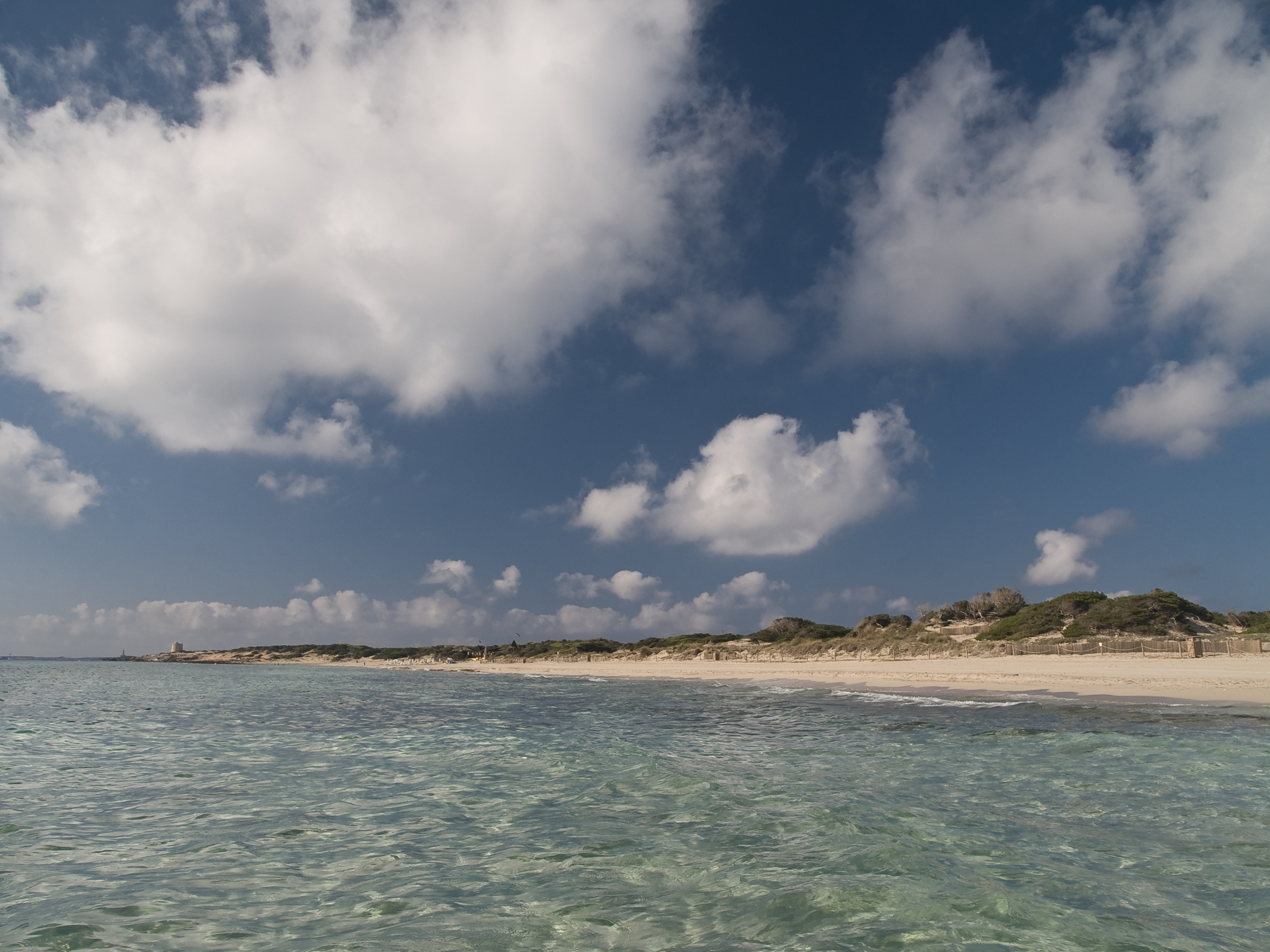 Foto playa Es Cavallet. Un matí a es Cavallet