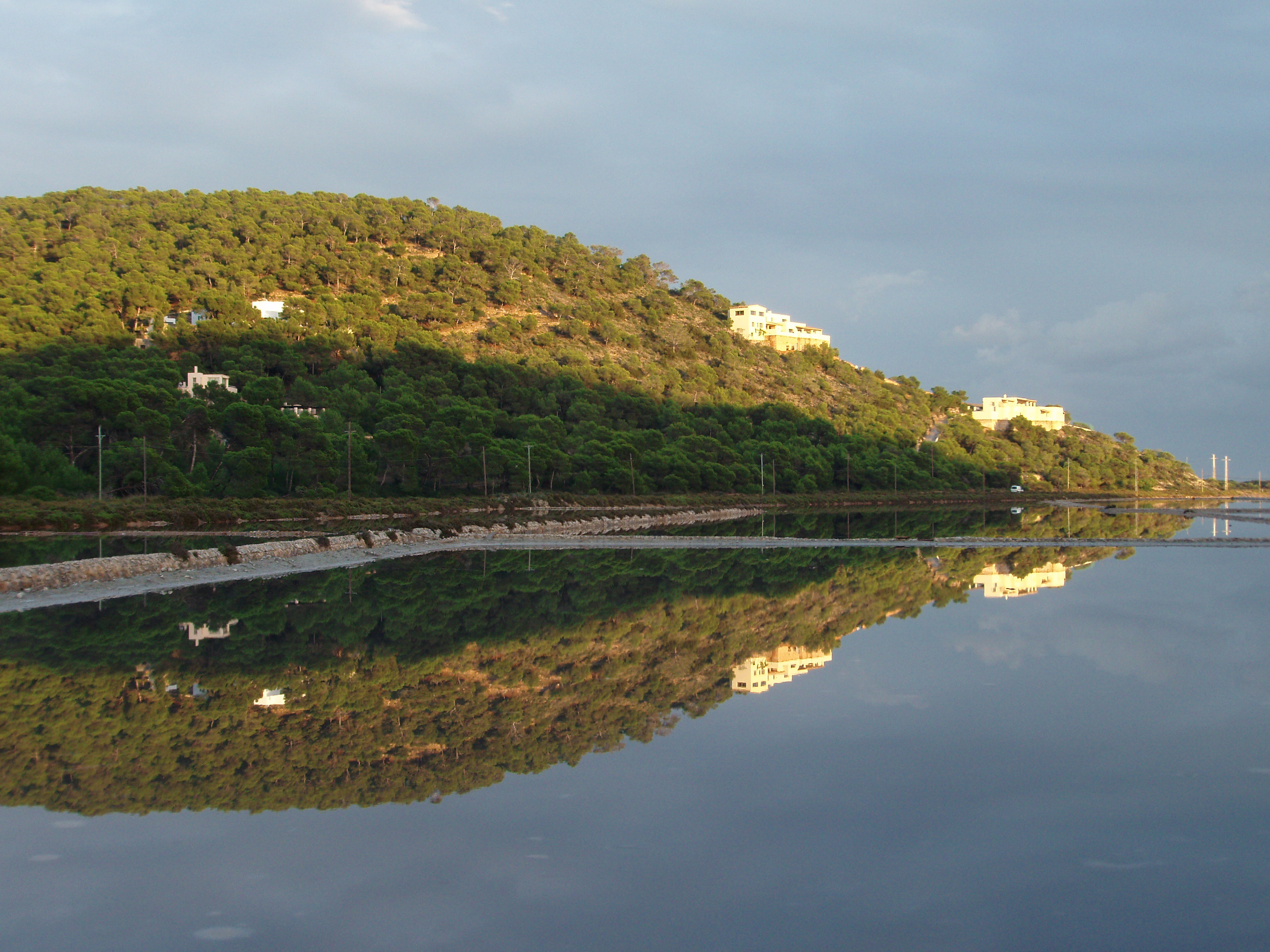 Foto playa Ses Salines / Mitjorn. Fotocopia natural (Ses Salines-Ibiza)