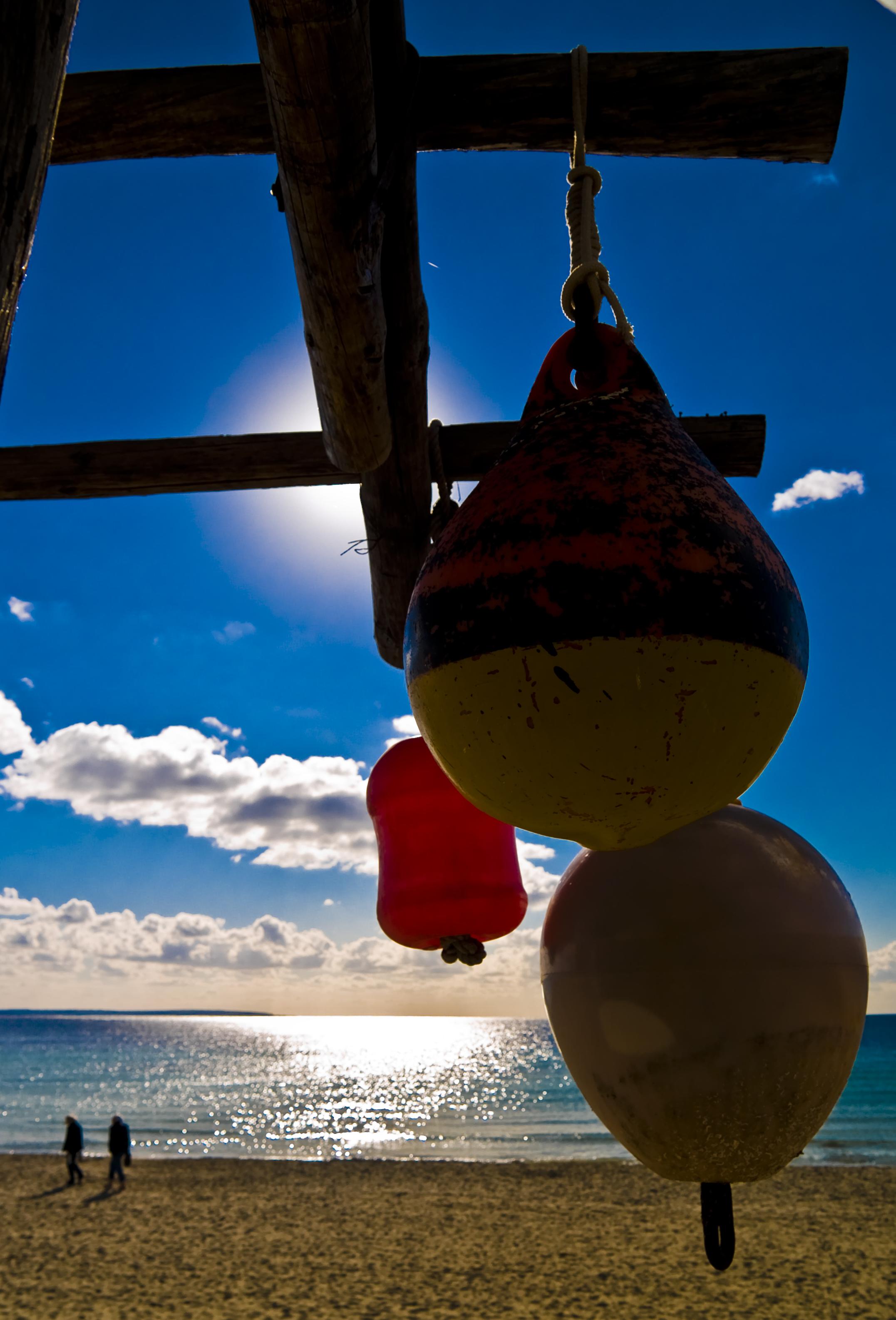 Foto playa Ses Salines / Mitjorn. A l´ombra del