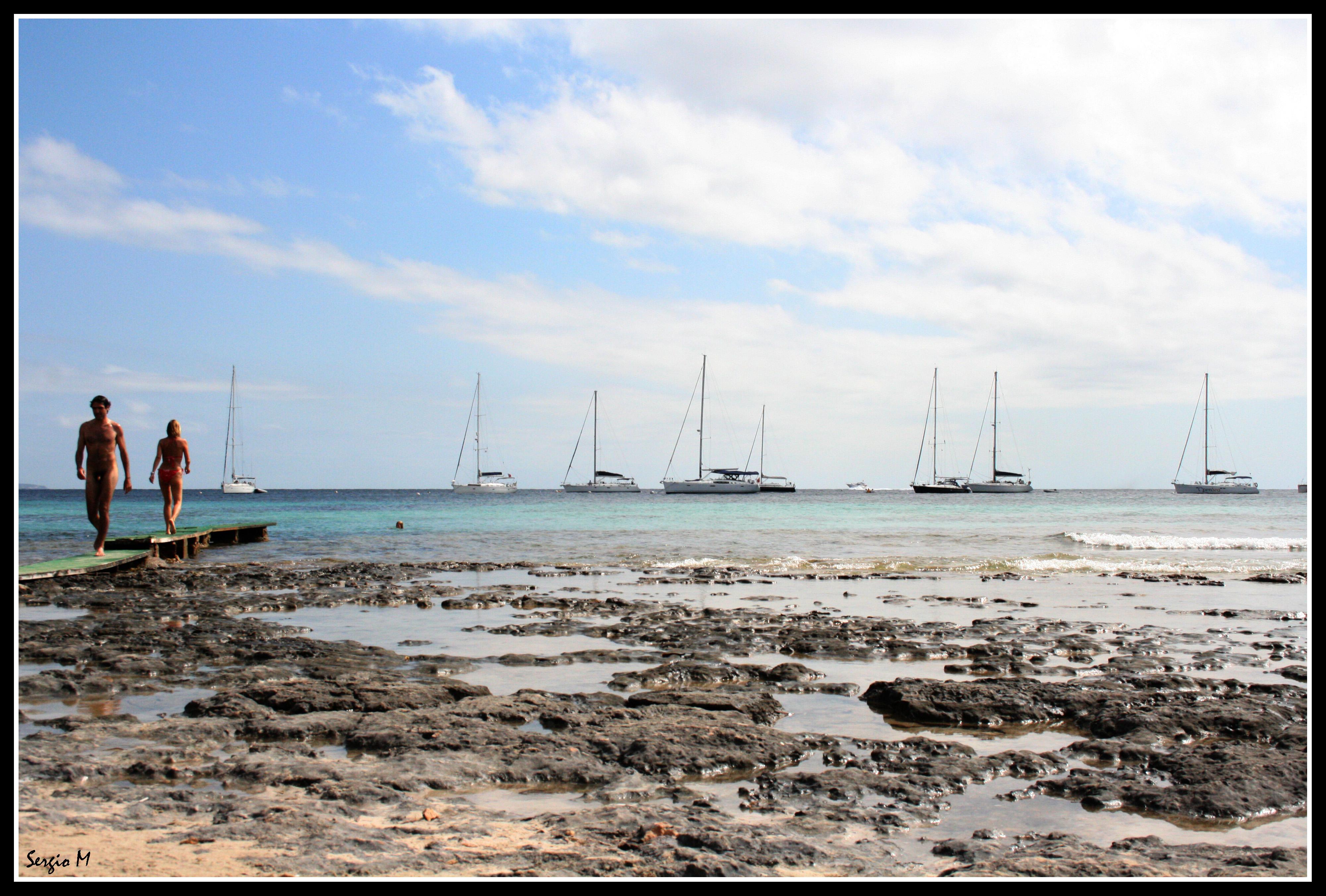 Foto playa Ses Salines / Mitjorn. Relax