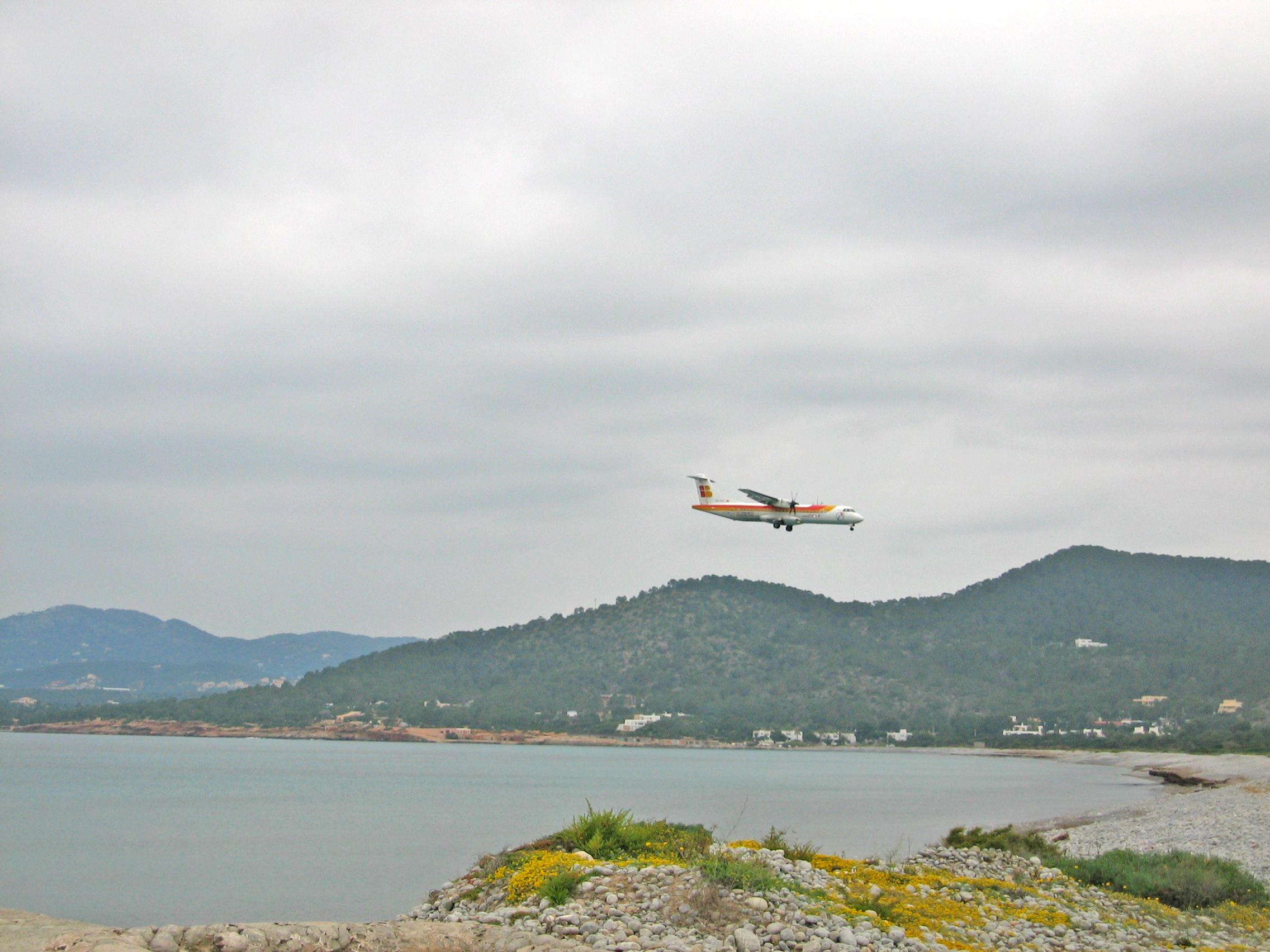 Foto playa Pont de Baix. Es Còdols, aeroport, Ses Salines