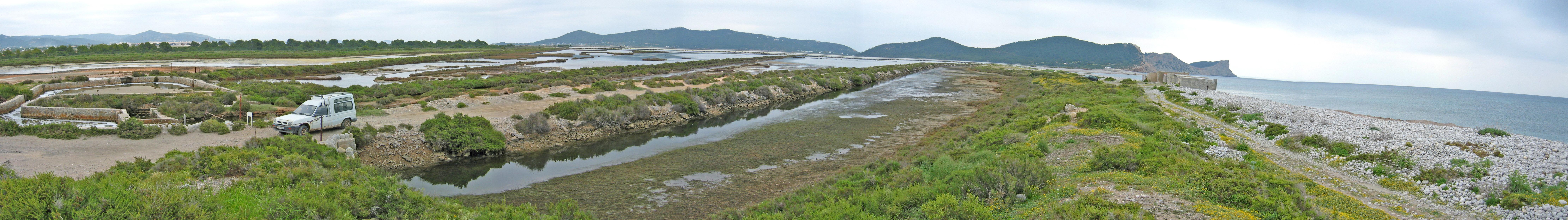 Foto playa Pont de Baix. Ses Salines