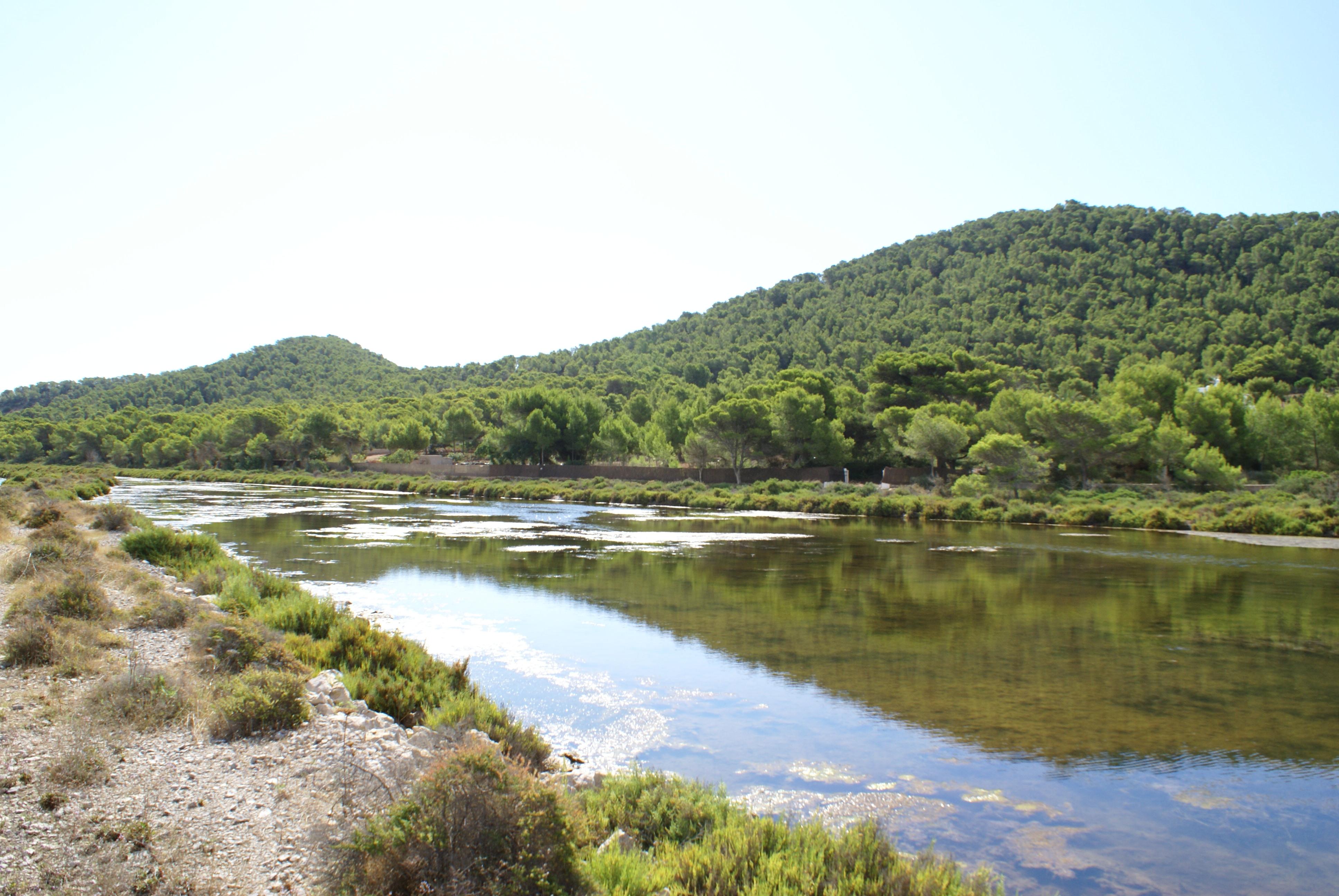 Foto playa Pont de Baix. Las Salinas