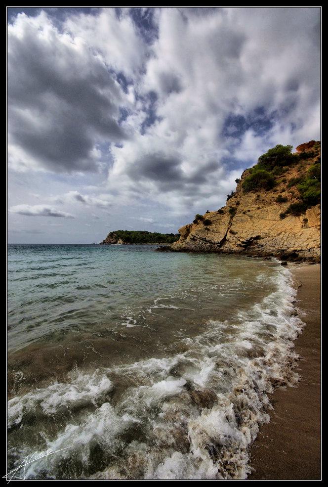 Foto playa Jondal. Cala Jondal - Eivissa - Buy a print in - http://cafate.blogspot.com/