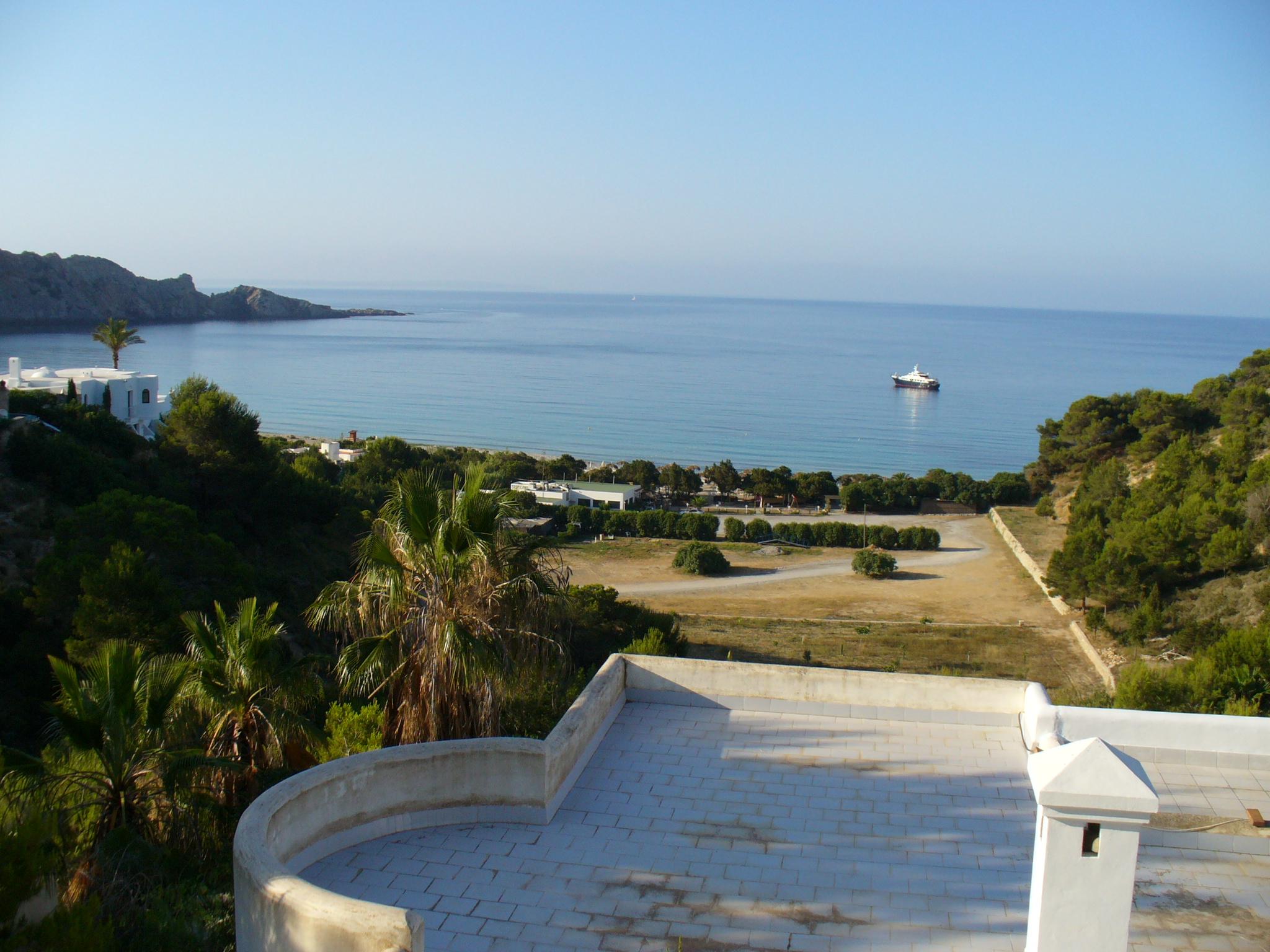 Foto playa Jondal. cala Jondal