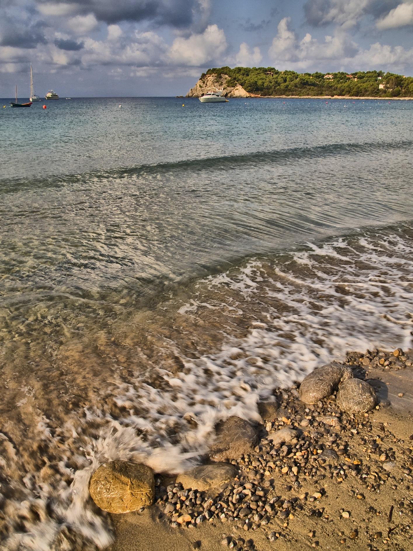Foto playa Jondal.