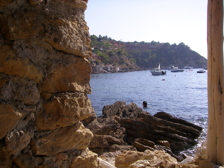 Foto playa Cala de Porroig. EL MAR DESDE LA CASETA