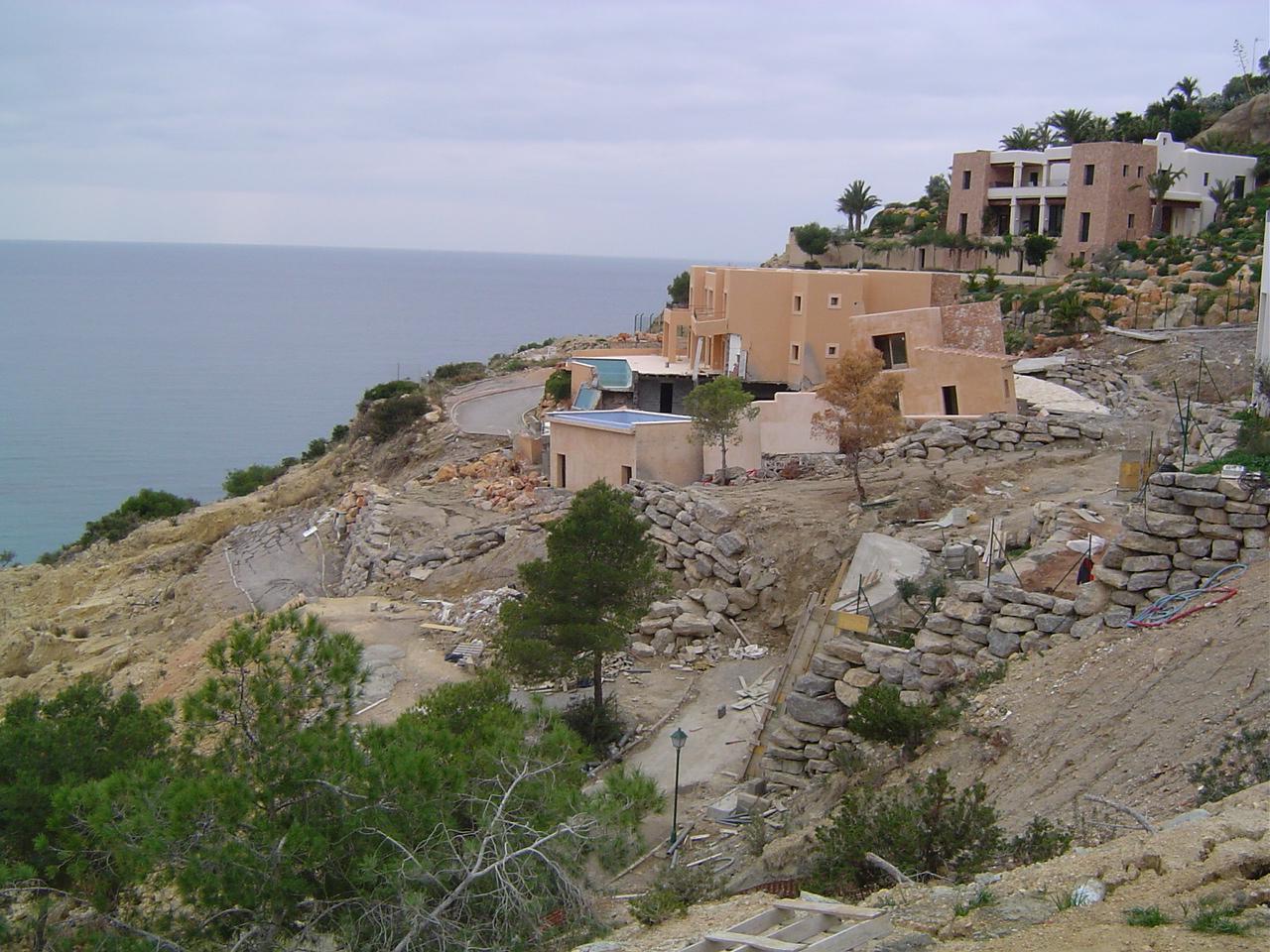 Foto playa Sa Caixota. Vista Alegre 2 (corrimiento de tierras)