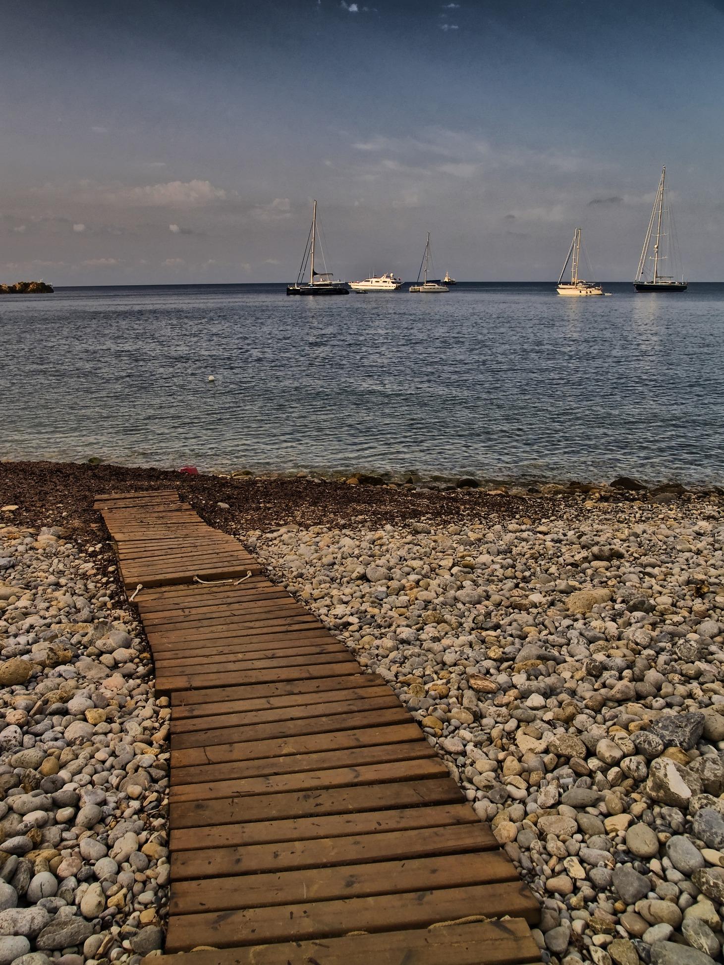 Foto playa Sa Caixota. Camí de l´aigua