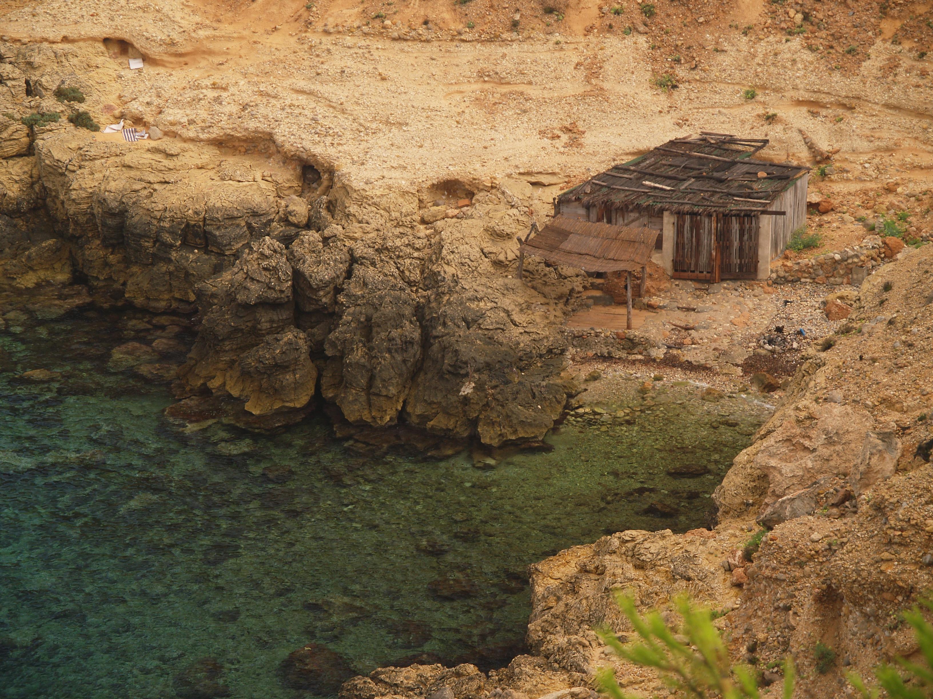 Foto playa Cala Llentrisca. Cala Truja
