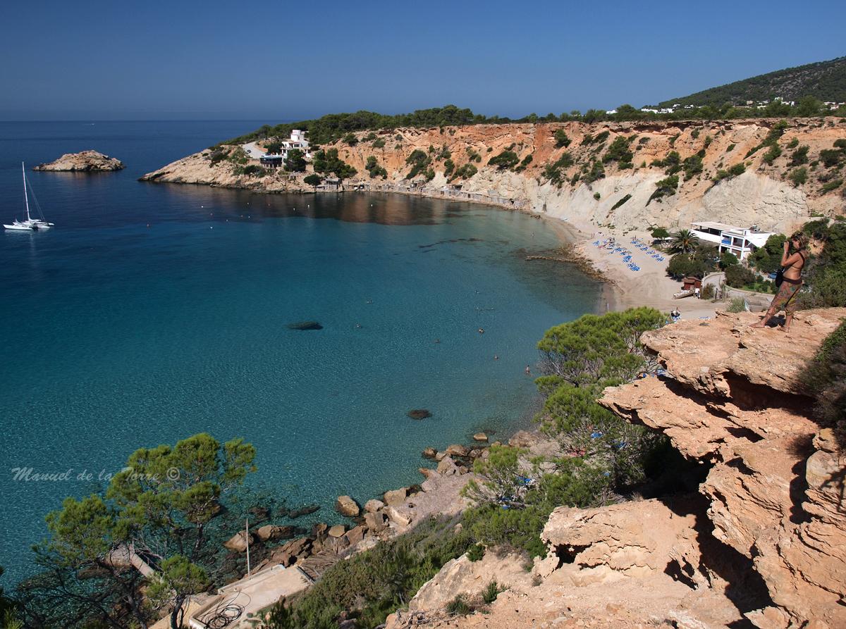Foto playa Cala Llentrisca. Cala D´Hort