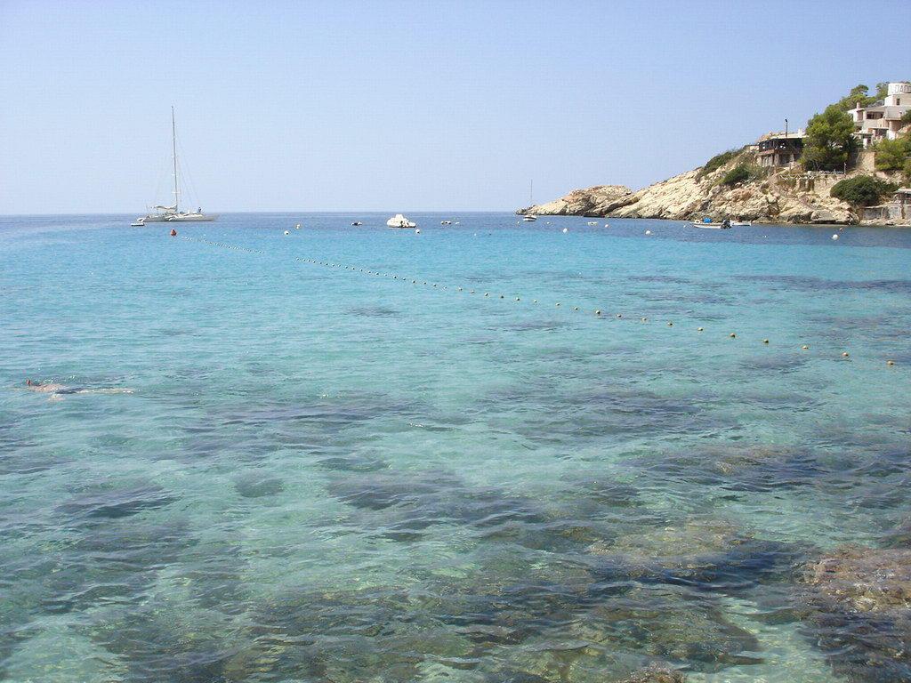 Foto playa Cala Llentrisca. Eivissa - Cala d´Hort