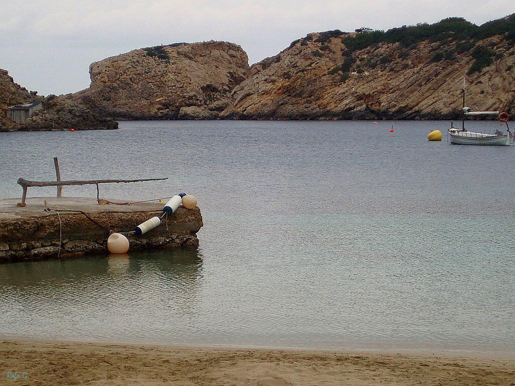 Foto playa Cala Vedella. Cala Vadella