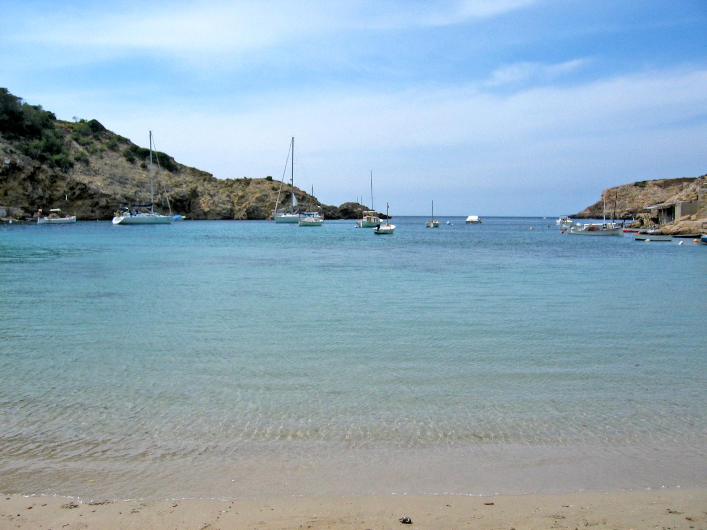 Foto playa Cala Vedella. Cala Vedella