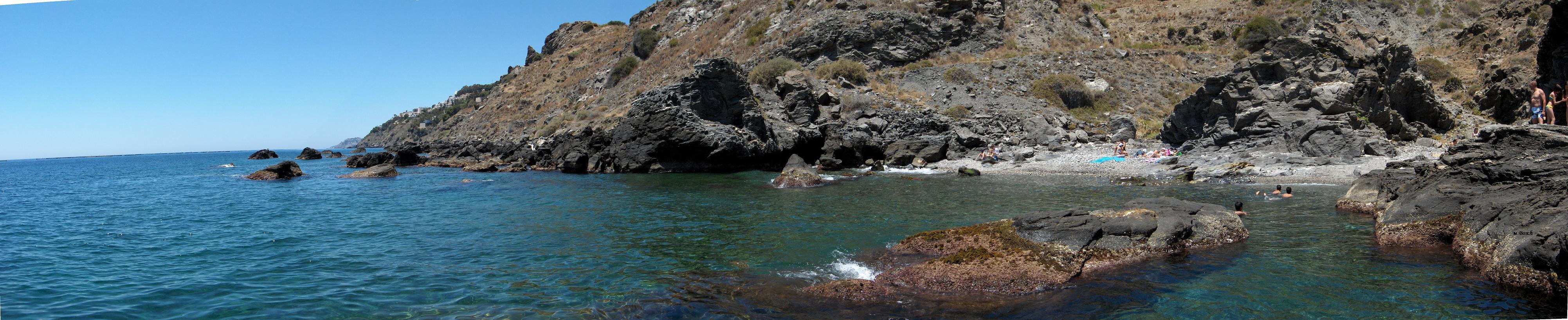 Foto playa La Guardia. El Caletón(salobreña)