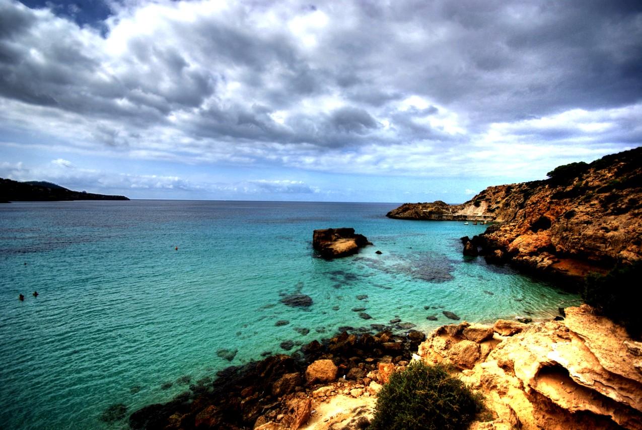 Foto playa Cala Corral. Cala Tarida Eivissa - Buy a print in - http://cafate.blogspot.com/