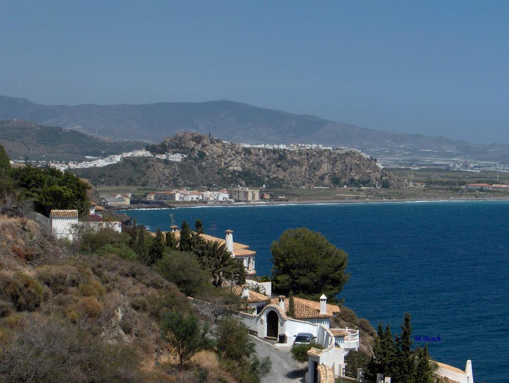 Foto playa El Caletón. Vista desde Hotel Salobreña.