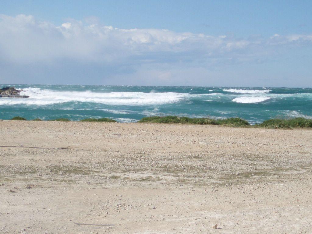 Foto playa Punta Xinxó / Cala de Bou. oleaje