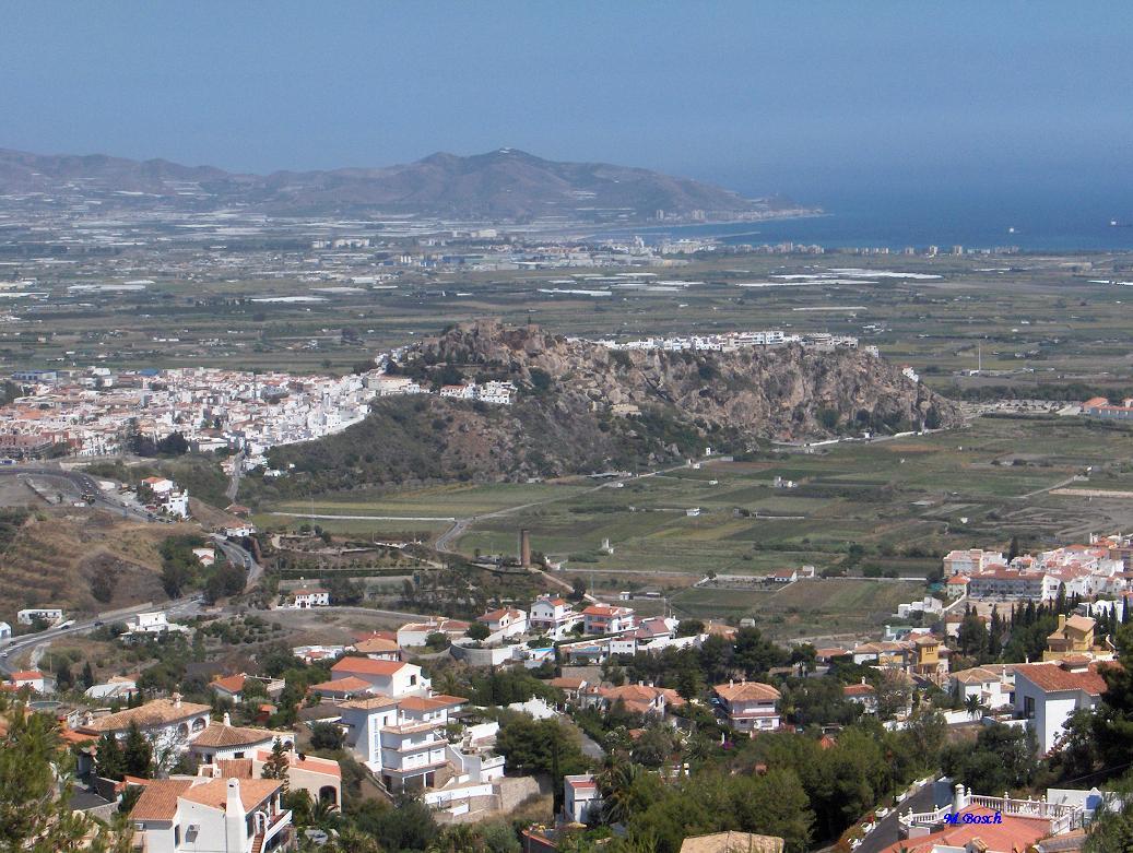 Foto playa El Caletón. Vista desde el Monte de los Almendros