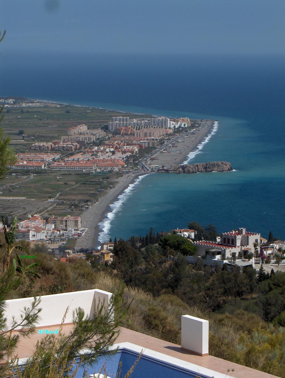 Foto playa El Caletón. Playa de Salobreña.